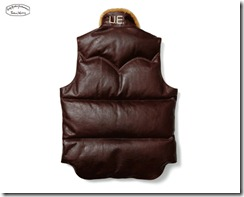 uniform experiment x Rocky Mountain Featherbed Leather Down Vest 3