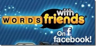 Word with friends heading to the facebook