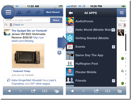 Facebook's 'Project Spartan' HTML5-based client goodness leaked