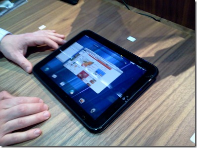 HP Touchpad Now Dual Boots Android 2.3.5 and webOS