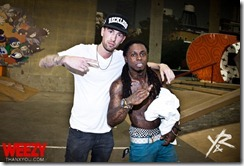 Lil wayne stunting at Rob Dyrdek's Fantasy Factory
