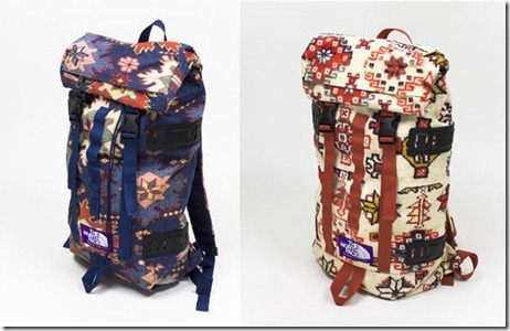 The North Face Purple Label printed bags