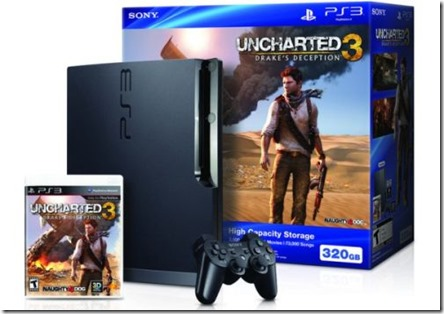 Uncharted 3 Drake's Deception PlayStation 3 bundle announced for US