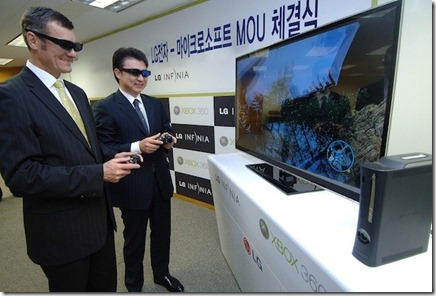 LG's New Dual Play TV For Xbox 360 Solves the Split Screen Dilemma