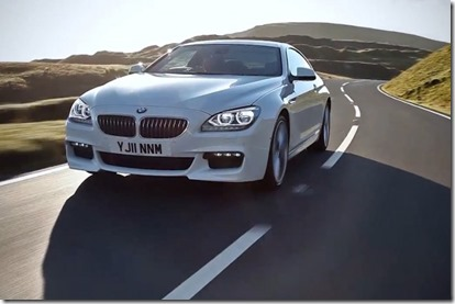 BMW 640d with M-Sport Package