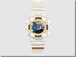 Dee & Ricky x G-Shock GA110DR-1A Watch in White