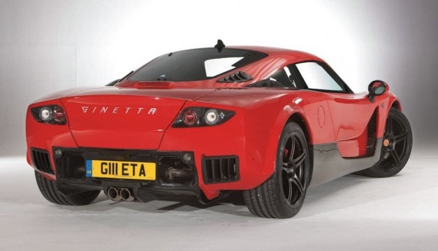 Ginetta G60 Sports Car Powered By A Ford Mustang V6