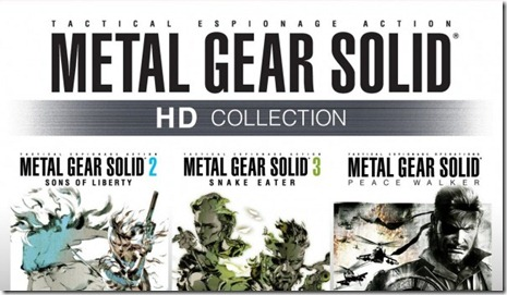 Metal Gear Solid HD Collection releases November 8 in North America