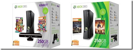 New Xbox 360 Holiday Bundles Announced