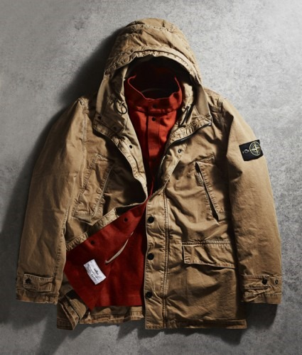 Stone island x nitty gritty 20th anniversary parka for Fotos fuera de serie