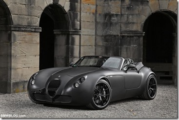 Black Bat Wiesmann MF5 with BMW V10 engine