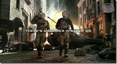 "Call of Duty: MW3 Trailer ""The Vet & The Noob"""