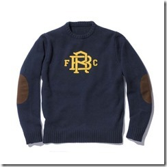 F.C.R.B Fall Winter 2011 Collection Knitwear 2