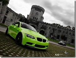 """Mean Green"" BMW M3 on D2FORGED CV2 2"