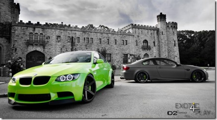 """Mean Green"" BMW M3 on D2FORGED CV2"