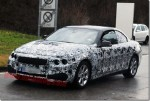 BMW 4 Series Convertible spotted testing