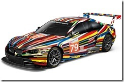 BMW M3 GT2 Art Car By Jeff Koons – 1 18 Scale Model 2