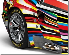 BMW M3 GT2 Art Car By Jeff Koons – 1 18 Scale Model 3