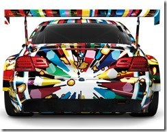 BMW M3 GT2 Art Car By Jeff Koons – 1 18 Scale Model 4