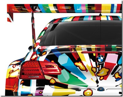 BMW M3 GT2 Art Car By Jeff Koons – 1 18 Scale Model