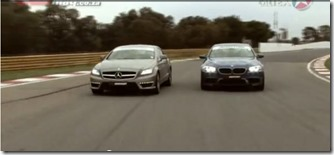 BMW M5 vs Mercedes-Benz CLS63 AMG