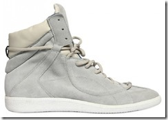 Maison Martin Margiela Suede & Leather Spring Summer 2012 High-top Sneakers 2