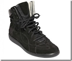 Maison Martin Margiela Suede & Leather Spring Summer 2012 High-top Sneakers 3