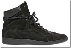 Maison Martin Margiela Suede & Leather Spring Summer 2012 High-top Sneakers 4