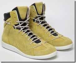 Maison Martin Margiela Suede & Leather Spring Summer 2012 High-top Sneakers 5