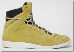 Maison Martin Margiela Suede & Leather Spring Summer 2012 High-top Sneakers 6