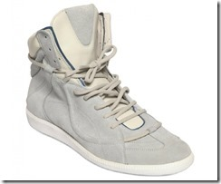 Maison Martin Margiela Suede & Leather Spring Summer 2012 High-top Sneakers