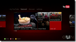Xbox 360's YouTube app gets a walkthrough [video]