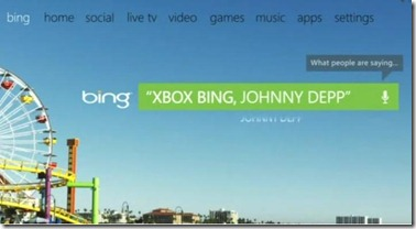 Xbox360 Bing Search