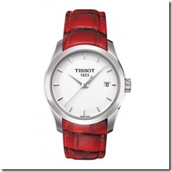 Couturier Ladies White Quartz Trend Watch