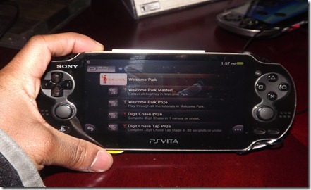 Impressions of the PS Vita