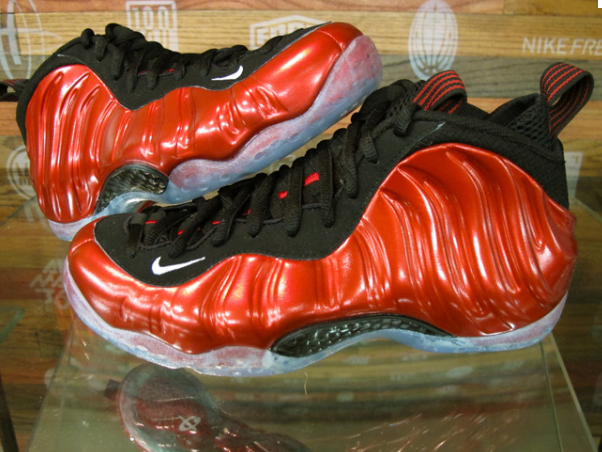 """4bfb4d1f033 Nike Air Foamposite One """"Metallic Red"""" For Valentines Day ..."""