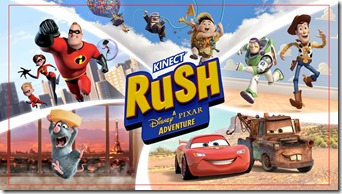 Xbox 360 teams up with Disney to bring your Kinect Rush