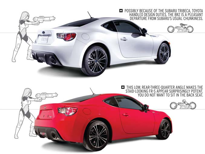 2013 Subaru Brz And 2013 Scion Fr S A Study In Comparison And Contrast Lifestyles Defined