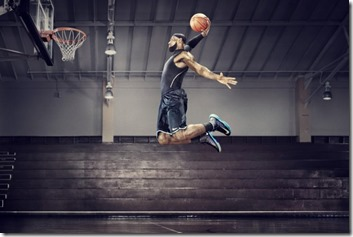 Nike  Basketball training app featuring Lebron James