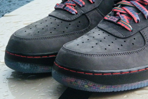 Nike Air Force 1  2012 Black History Month Shoe Detailed Pictures ... 233fa676ddff