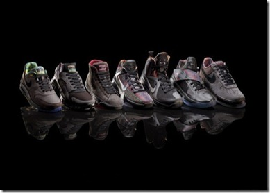 Nike black history month 2012 collection. Living the prideful Nike lifestyle dream.