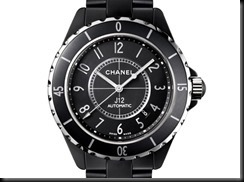 Chanel J12 Ceramic Matte Black 2