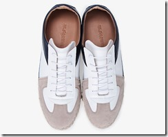 Jil Sander Betis Suede and Leather Sneakers 3