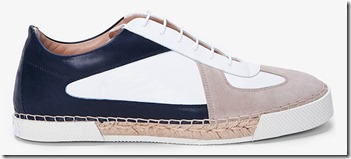 Jil Sander Betis Suede and Leather Sneakers