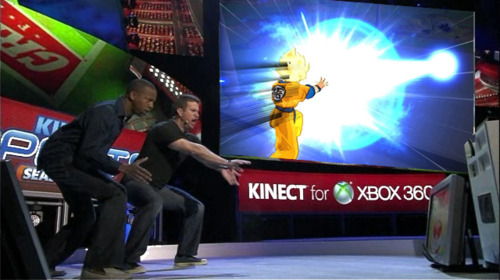 Namco Bandai Announces Dragon Ball Z for Kinect