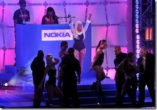 Nokia, Nicki Minaj and Microsoft shuts down Times Square 2