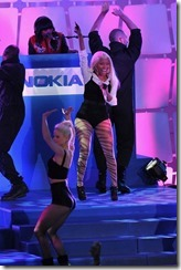 Nokia, Nicki Minaj and Microsoft shuts down Times Square 4