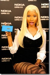 Nokia, Nicki Minaj and Microsoft shuts down Times Square