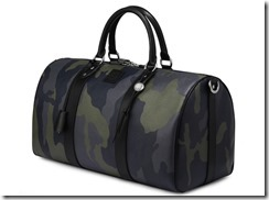 Trussardi 1911 Spring Summer 2012 Camo Bag Collection