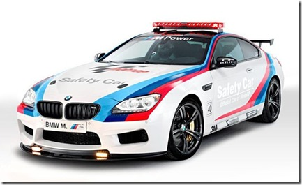 BMW rolls out new M6 safety car for MotoGP